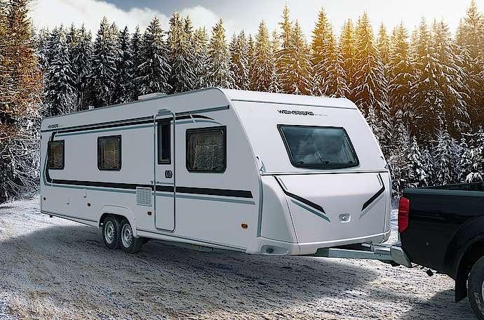 Wohnwagen Weinsberg Etagenbett : Caraone edition ice winterfester allwetter wohnwagen