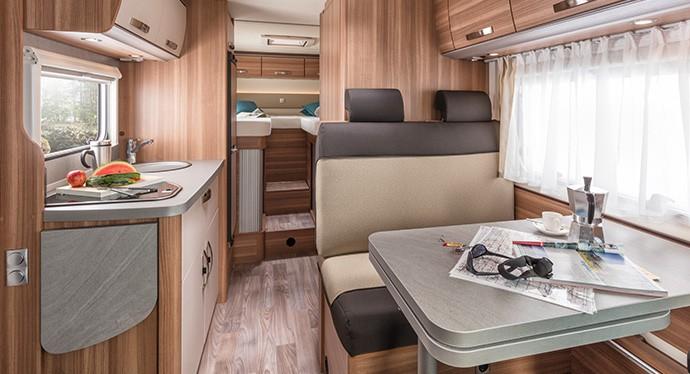 Das neue Reisemobil CaraLoft | groß, schön, wendig