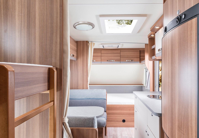Der neue Wohnwagen CaraOne | Interieur und Stoffe