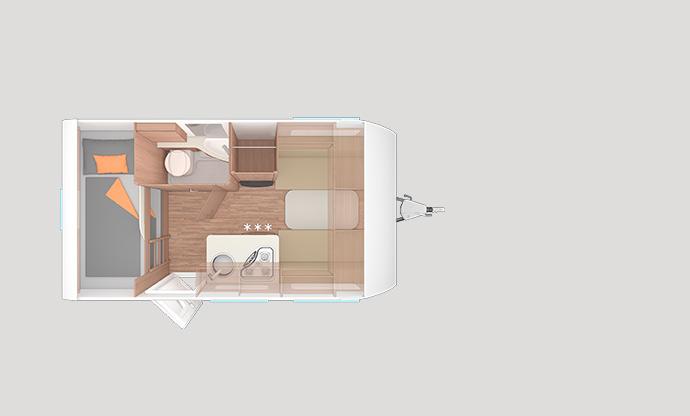 Wohnwagen Etagenbett Grundriss : Der neue wohnwagen caraone grundrissübersicht